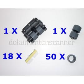 Austauschrollen-Kit für Kodak i600, i700, i1800 Serie