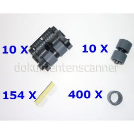 Austauschrollen-Kit XXL für Kodak i600, i700, i1800 Serie