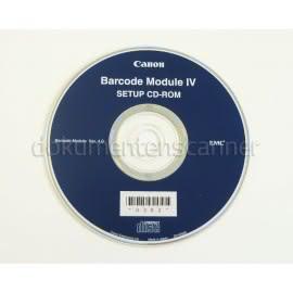 Barcode-Modul für Canon DR-6010C, DR-6030C, DR-C240, DR-G1100, DR-M160, DR-X10C