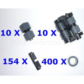 Austauschrollen-Kit XXL für Kodak i4000, i5000 Serie