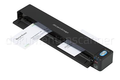 Fujitsu ScanSnap iX100 Visitenkarten