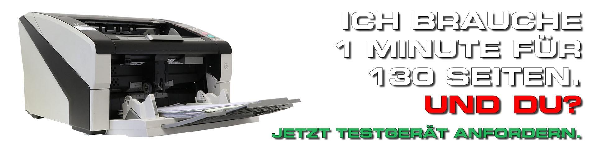 Professionelle Hochleistungsscanner für alle Anforderungen
