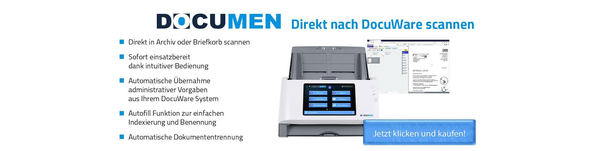DOCUMEN - Der DocuWare Scanner