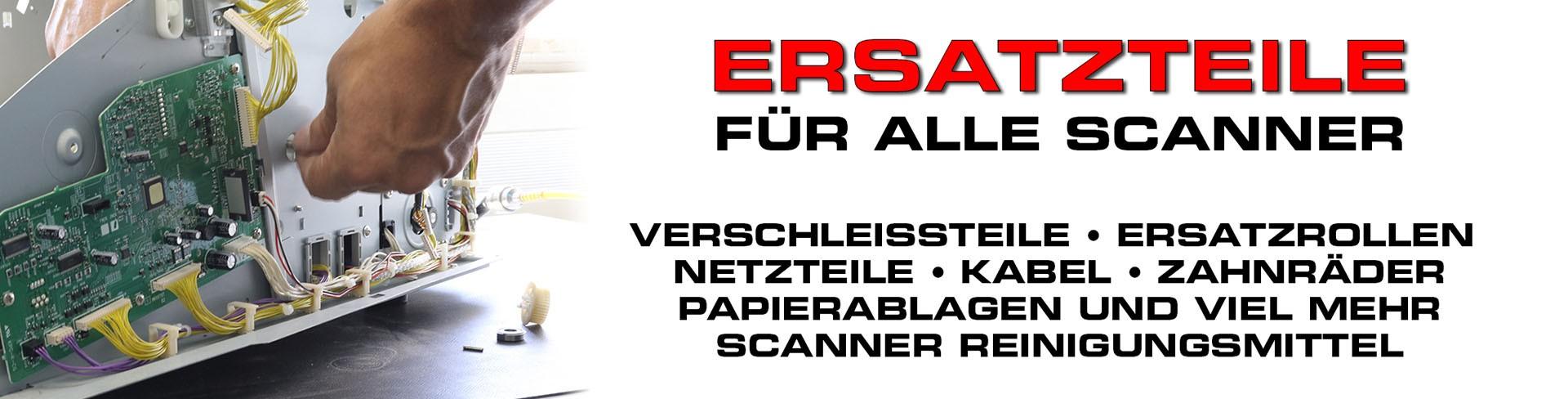 Verschleißteile und Ersatzteile für alle Scanner
